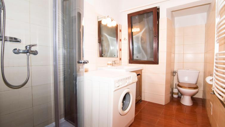 Laundry at Calea Victoriei Apartment - Citybase Apartments