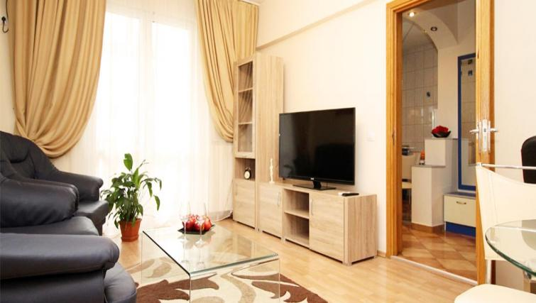 Living area at Doamnei Apartments - Citybase Apartments