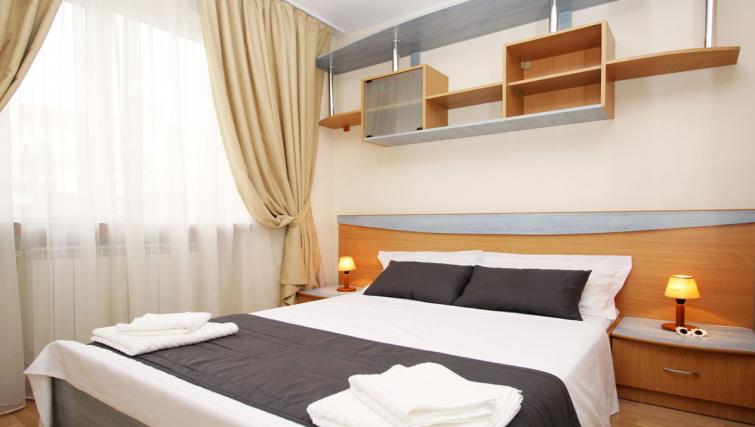 Double bedroom at Doamnei Apartments - Citybase Apartments