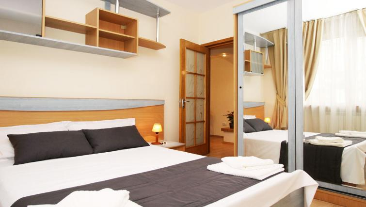 Bedroom at Doamnei Apartments - Citybase Apartments