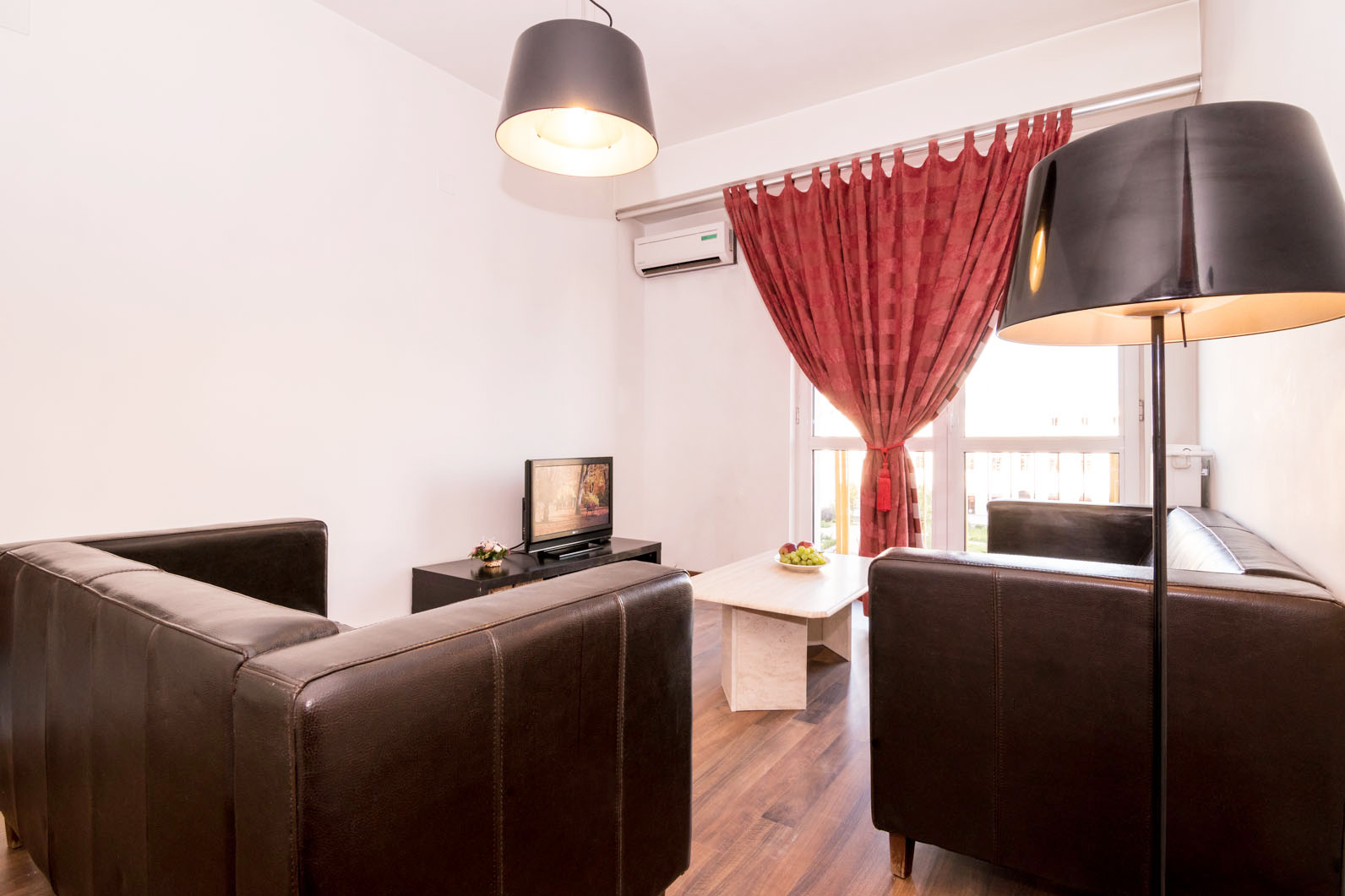 Sofa at Doamnei Apartments, Old Town, Bucharest - Citybase Apartments