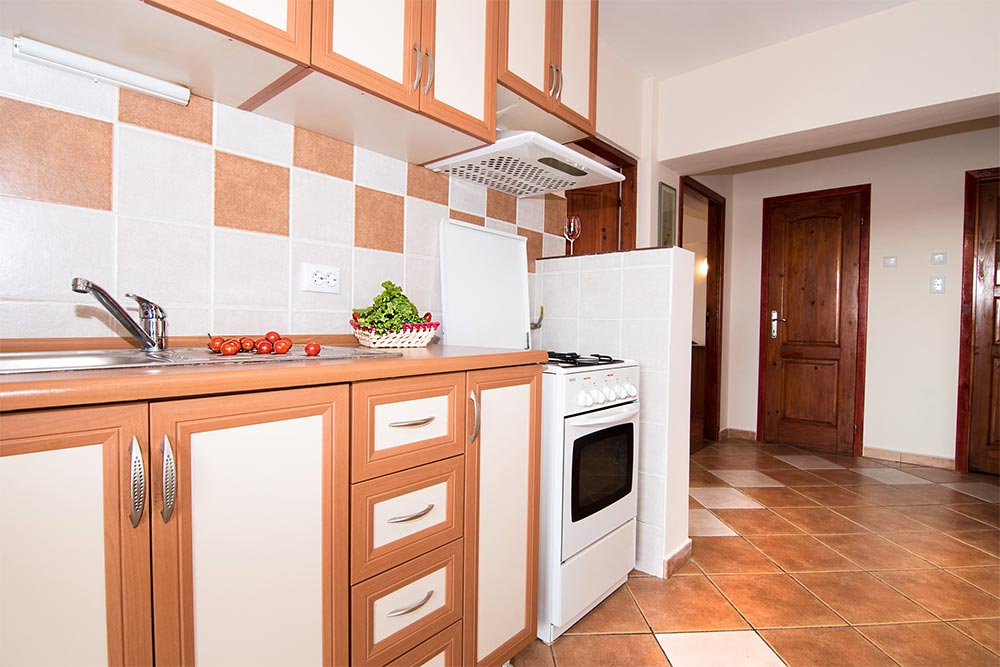 Kitchen at Odeon Apartment, Old Town, Bucharest - Citybase Apartments