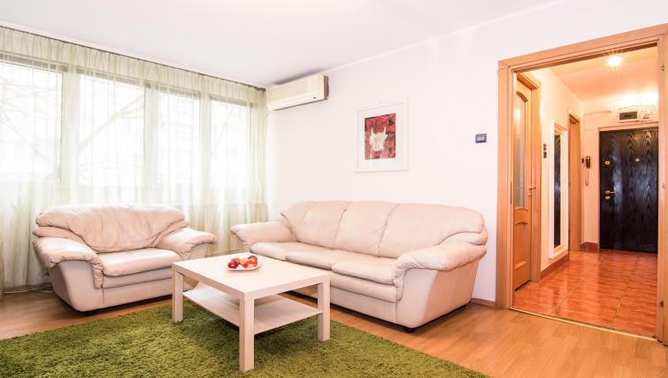 Lounge at Balcescu Apartment - Citybase Apartments