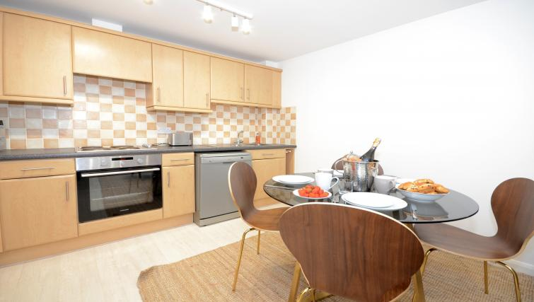Kitchen at Minster's Reach Apartments - Citybase Apartments