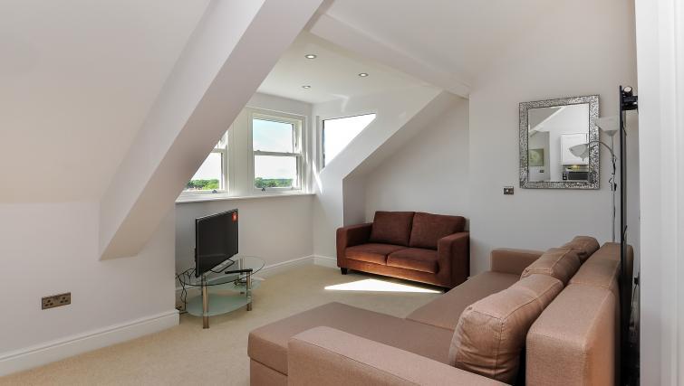 Sofa at Wenlock The Keyes Apartments - Citybase Apartments