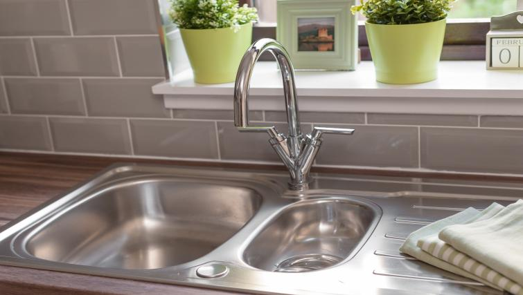 Kitchen facilities at the Brown Street Apartment - Citybase Apartments