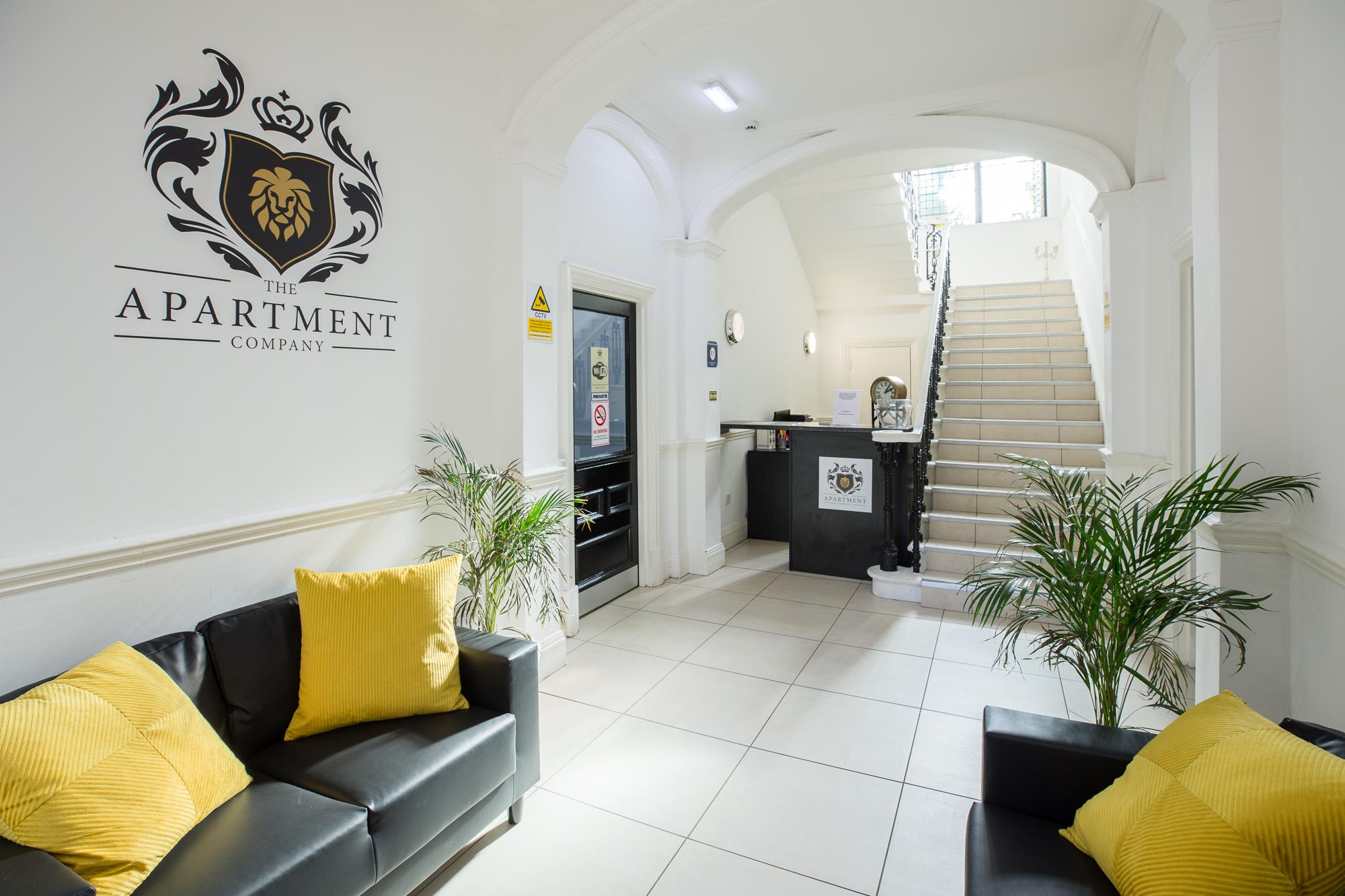 Reception at Sunderland Road Apartments - Citybase Apartments