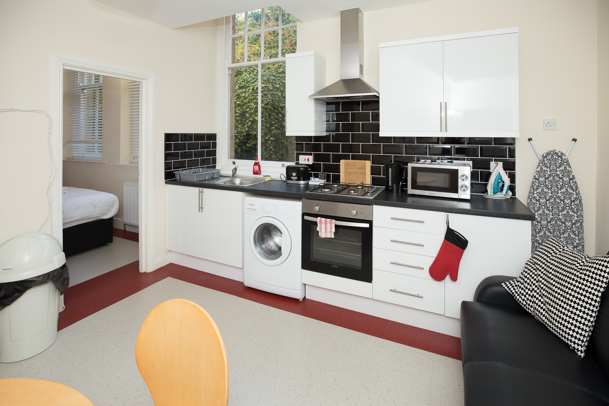 Kitchen at Sunderland Road Apartments - Citybase Apartments