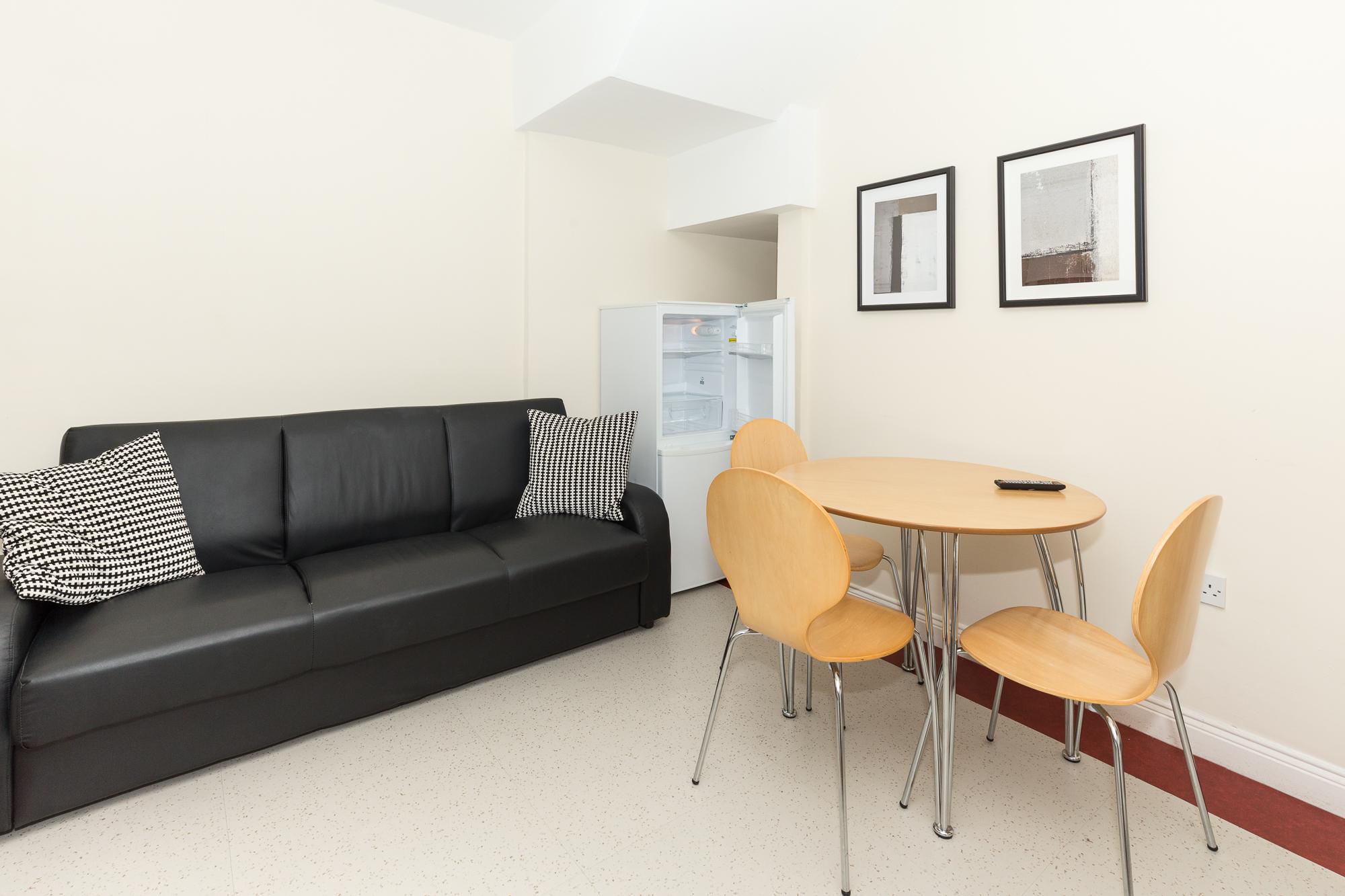 Sofa at Sunderland Road Apartments - Citybase Apartments