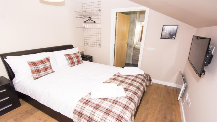 Double bedroom at Nort Bode Apartments - Citybase Apartments