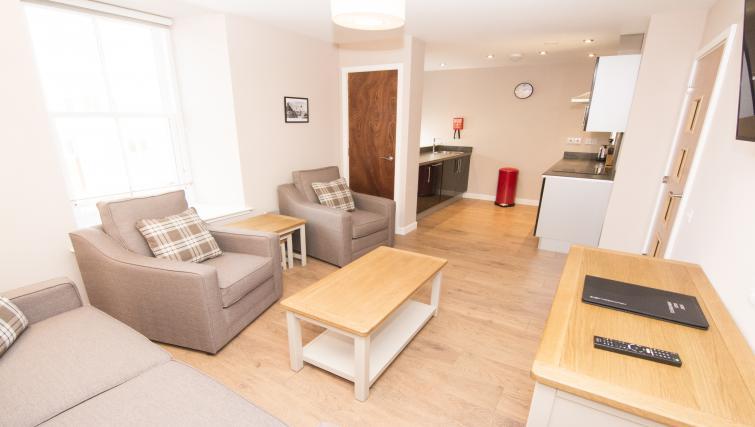 Sofa at Nort Bode Apartments - Citybase Apartments