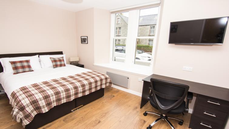 Bedroom at Nort Bode Apartments - Citybase Apartments