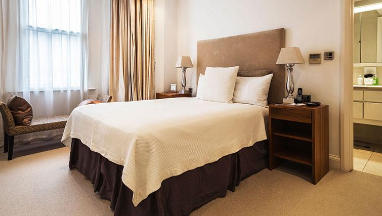 Double bedroom at St. James' Street Apartment - Citybase Apartments