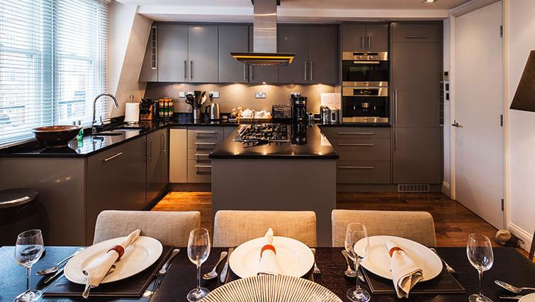 Equipped kitchen at St. James' Street Apartment - Citybase Apartments