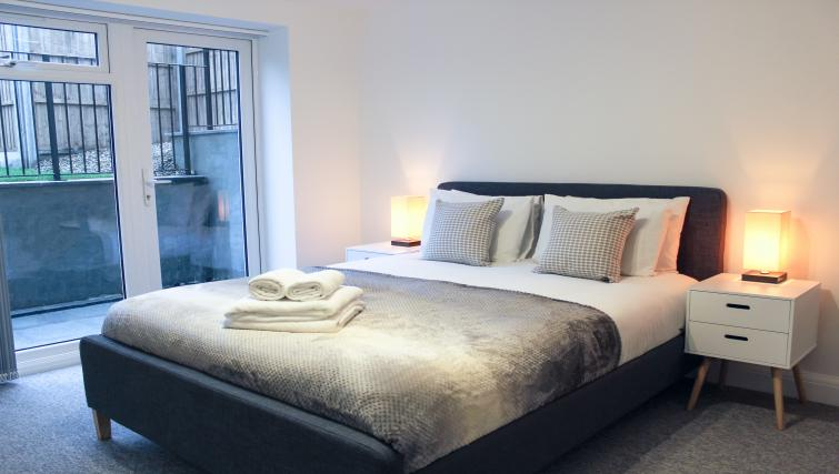 Bedroom at the Flying Butler West Finchley Apartments - Citybase Apartments