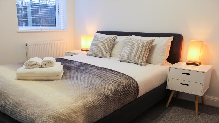 Bed at the Flying Butler West Finchley Apartments - Citybase Apartments