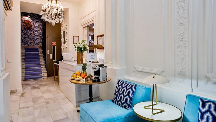 Lobby at 11th Principe Apartments - Citybase Apartments
