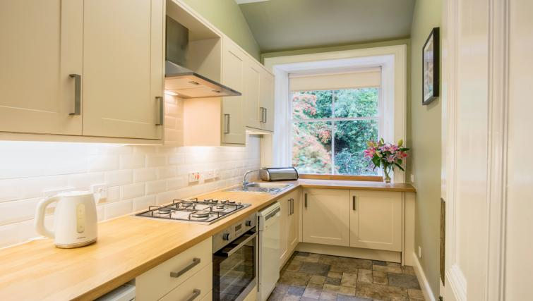 Kitchen at the Ochil Apartment - Citybase Apartments