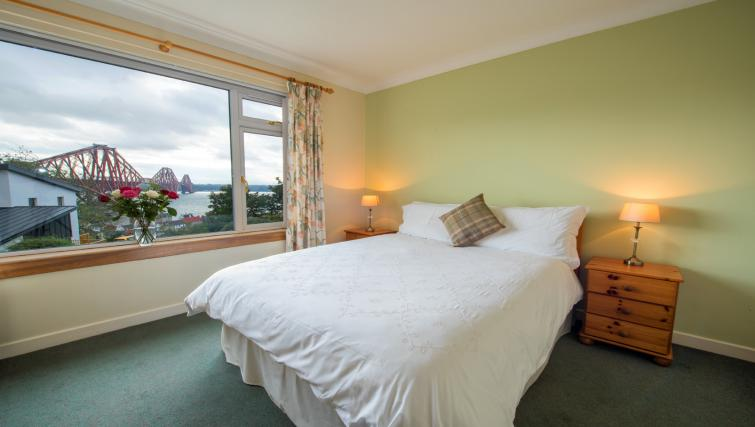 Bedroom at the Bowishill Cottage - Citybase Apartments