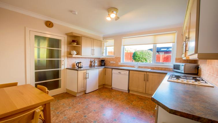 Kitchen at the Bowishill Cottage - Citybase Apartments