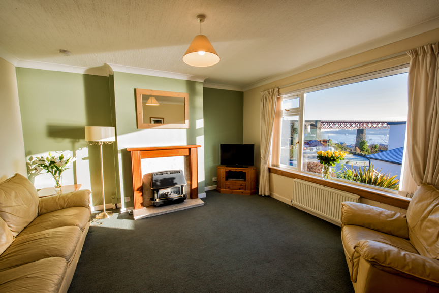 Living room at the Bowishill Cottage - Citybase Apartments