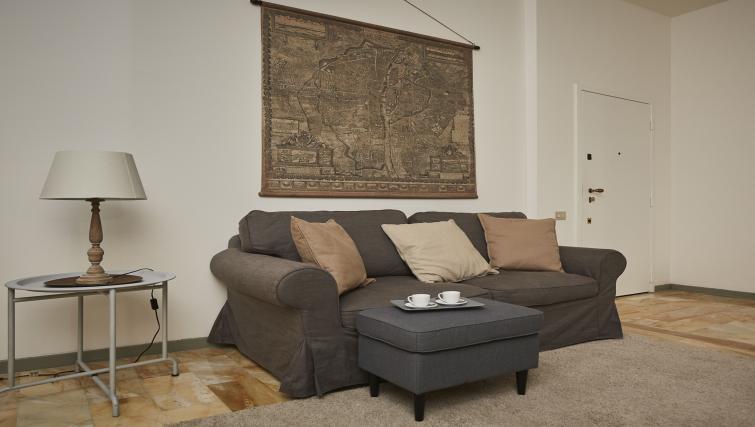Sofa at Papiniano Apartment - Citybase Apartments