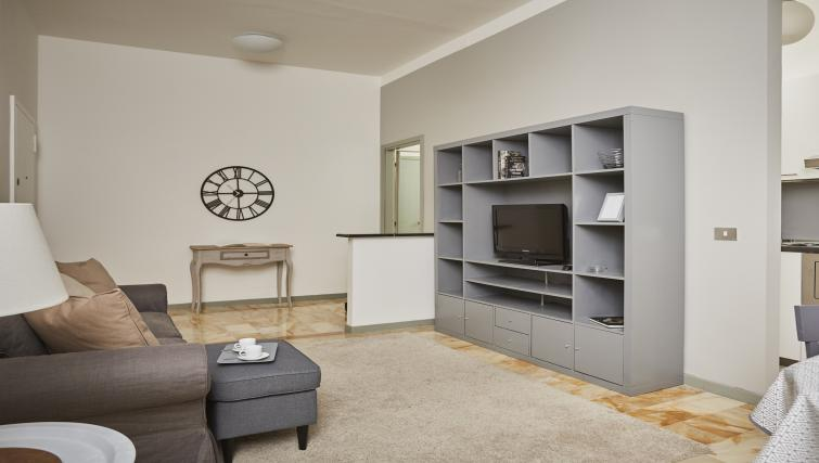 Living area at Papiniano Apartment - Citybase Apartments