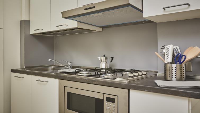 Kitchen at Papiniano Apartment - Citybase Apartments