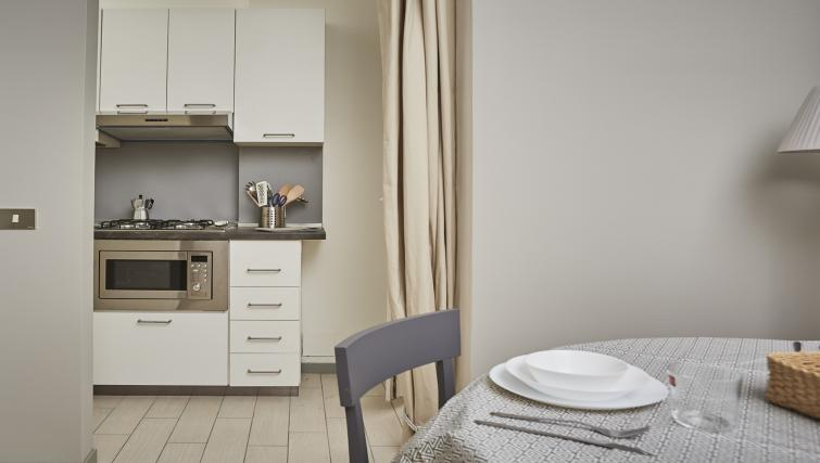 Kitchenette at Papiniano Apartment - Citybase Apartments
