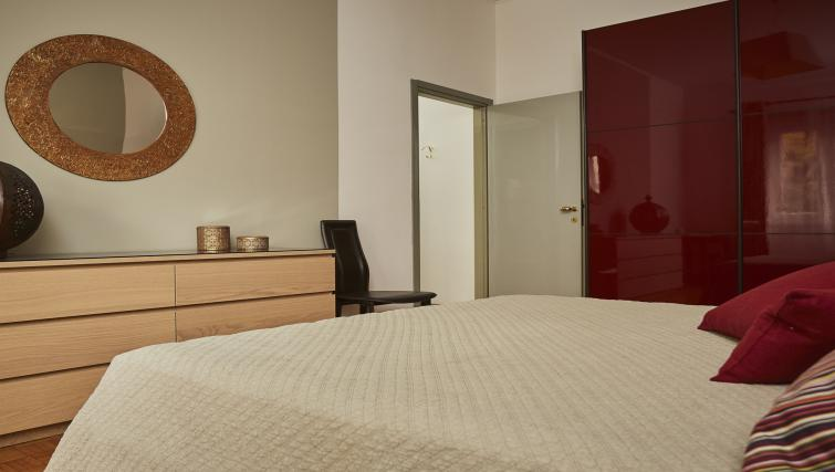 Bed at Papiniano Apartment - Citybase Apartments