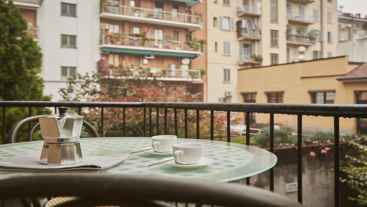 Balcony at Papiniano Apartment - Citybase Apartments