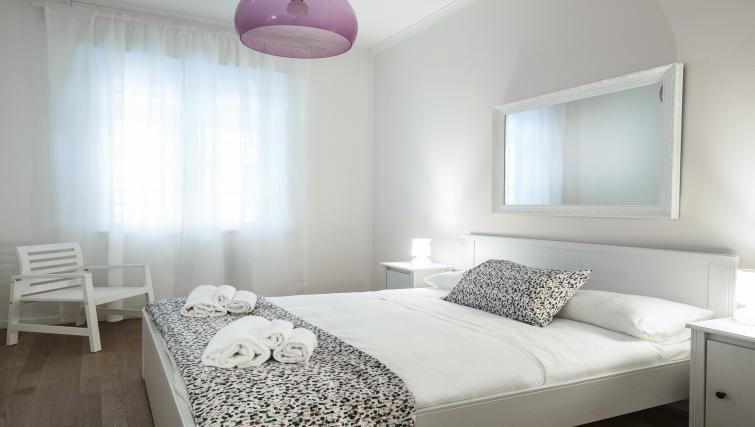 Double bedroom at Olmetto Apartment - Citybase Apartments