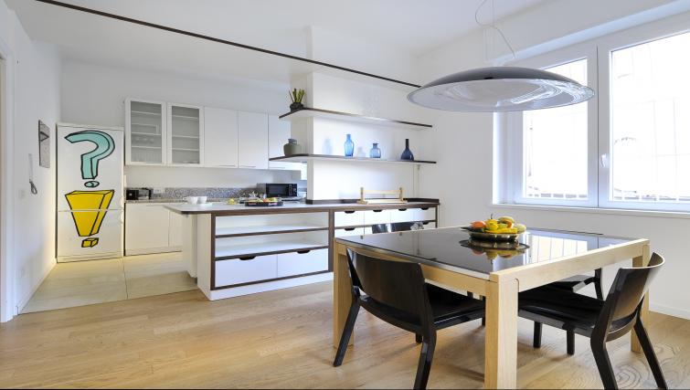 Equipped kitchen at Olmetto Apartment - Citybase Apartments