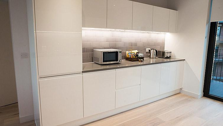 Modern kitchen at the  Masthead House - Citybase Apartments
