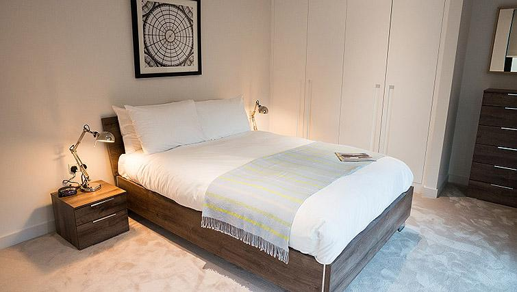 Bedroom at the Clarendon Masthead House - Citybase Apartments