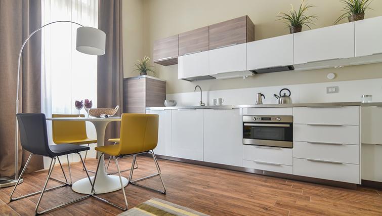 Kitchen at Bohème-6 Apartment - Citybase Apartments