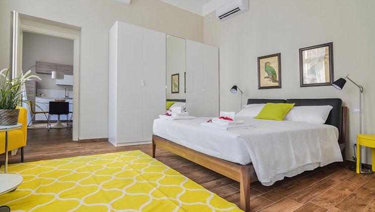 Bedroom at Bohème-6 Apartment - Citybase Apartments