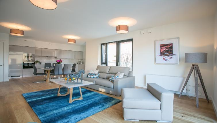 Living space at Hanover Mills Apartments - Citybase Apartments