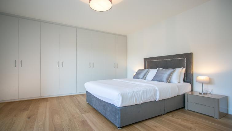 Bright bedroom at at Hanover Mills Apartments - Citybase Apartments