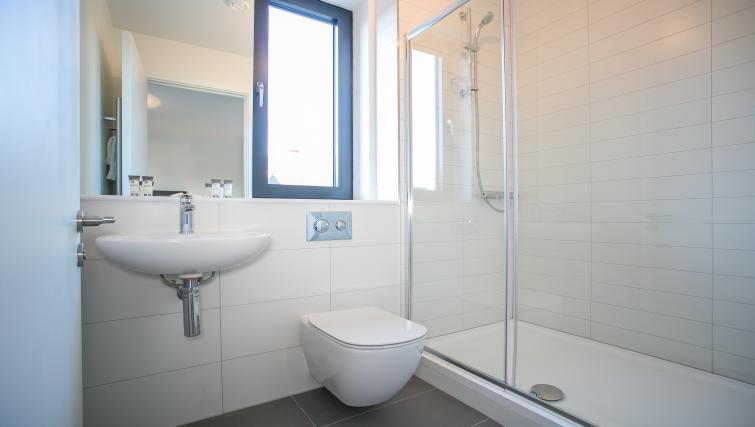 Bathroom at Hanover Mills Apartments - Citybase Apartments