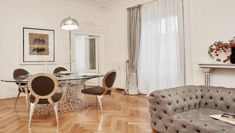 Living room at the Vallazze Luxury Apartment - Citybase Apartments