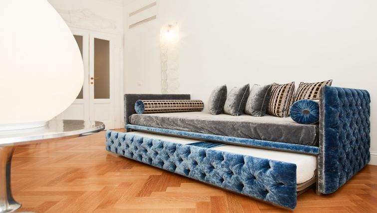 Pull out bed at the Vallazze Luxury Apartment - Citybase Apartments