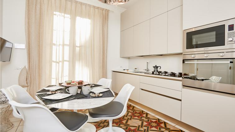 Kitchen at the Vallazze Luxury Apartment - Citybase Apartments