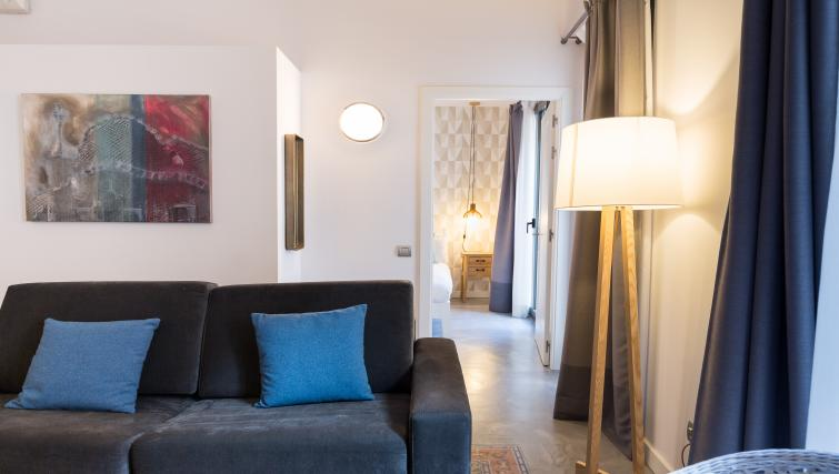 Living space at Park Guell Apartments - Citybase Apartments