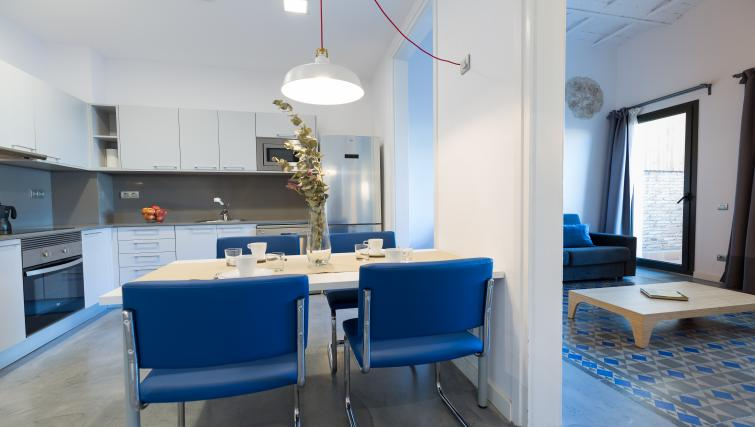 Kitchen/diner at Park Guell Apartments - Citybase Apartments