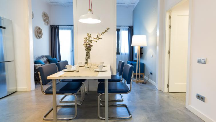 Dining area at Park Guell Apartments - Citybase Apartments