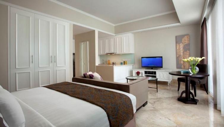 Classy living area in Ascott Jakarta Apartments - Citybase Apartments