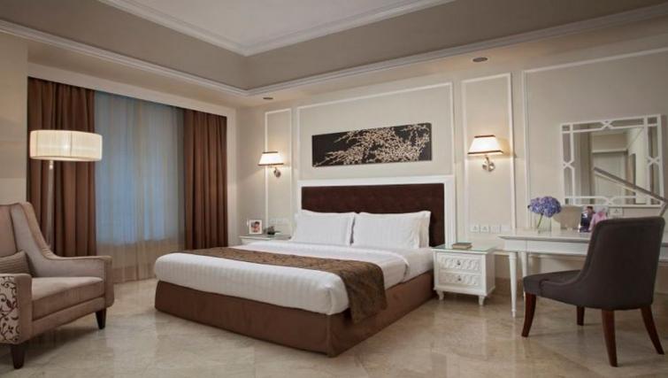 Elegant bedroom in Ascott Jakarta Apartments - Citybase Apartments