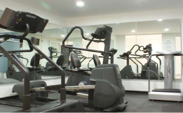 Gym at Grand Chapultepec Residencial - Citybase Apartments