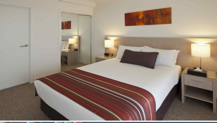 Bedroom at the Quest South Brisbane - Citybase Apartments